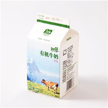 【每日鲜】归原有机鲜牛奶-全脂486ml