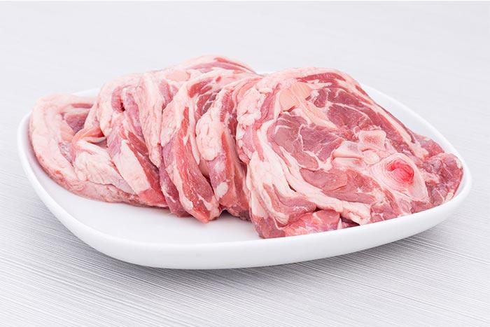 青海藏绵羊法式羊脖片 500g